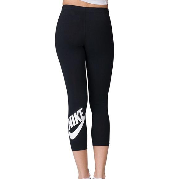 8379720230d3c Nike Pants | Nwt Leg A See Logo Black Legging Small | Poshmark